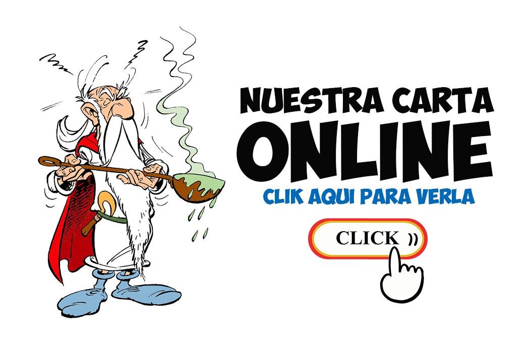 carta online obelix la manga